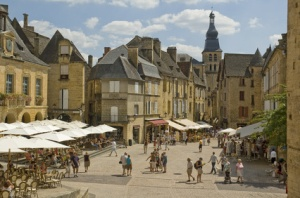 It's views like this one in Sarlat that makes the South West's appeal so enduring