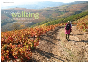 Walking page from the New Issue of Frenchentrée