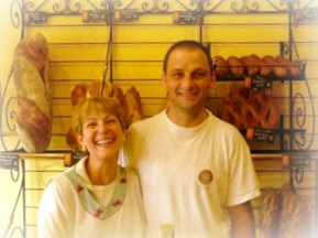 The smiliest bakers in the Midi-Pyrenees in Salies du Salat